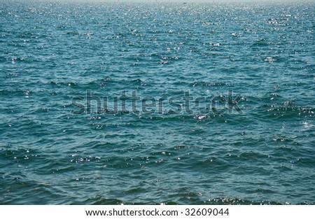 Ocean waves in Italy