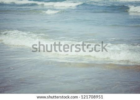 Ocean waves. Indian ocean. Bali. Indonesia
