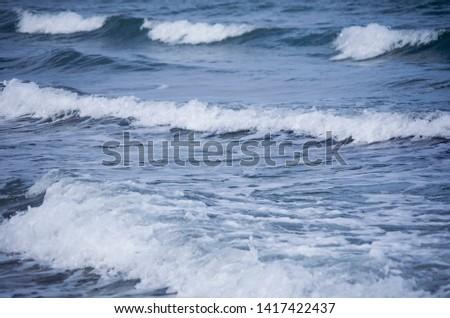 Ocean waves spring in spain #1417422437