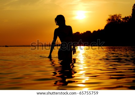 ocean woman