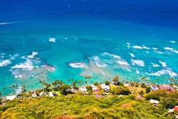 Oceanfront house in Oahu,Hawaii