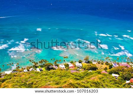 Oceanfront house in Oahu,Hawaii #107016203