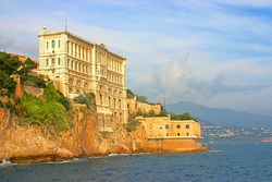 Oceanographic museum of Monaco, near the palace