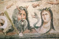 Oceanus and Tethys Floor Mosaic