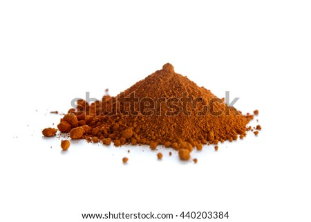 Shutterstock Ochre, also spelled ocher, a natural yellow earth pigment based on hydrated iron oxide.