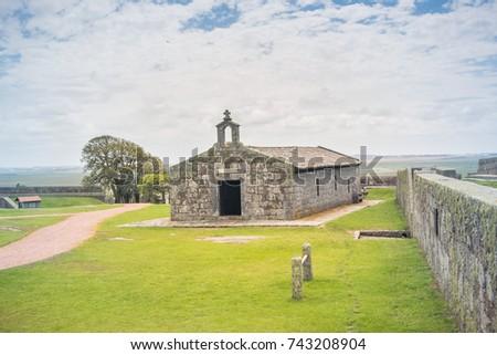 OCTOBER 11, 2017: Santa Teresa Fort, at Rocha - Uruguay. #743208904