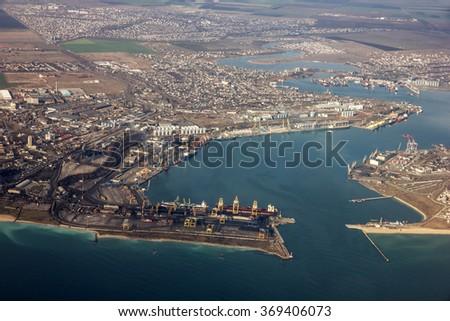 Odessa city aeral view, Ukraine #369406073