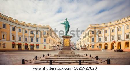 Odessa, Monument to Duc de Richelieu #1026927820