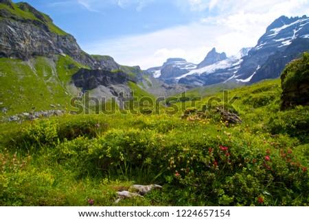 Oeschinensee, Kandersteg Switzerland #1224657154