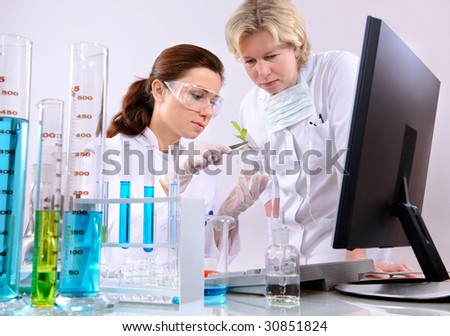 of scientists working at the laboratory