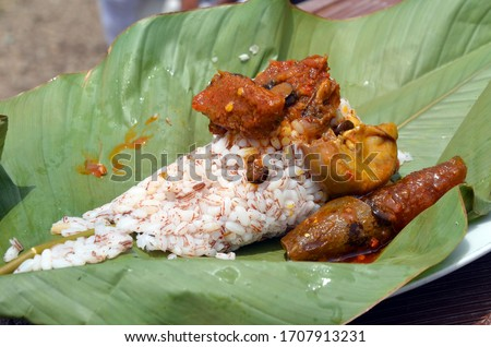 Ofada Rice, also known as brown rice, is a local, Nigerian unpolished rice which is non-genetically modified. It is the short, robust and brown rice planted mostly in Ogun State, 17th March 2020