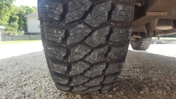 Off Road Tire Close Up