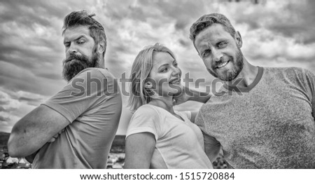 Offended partner still suffers. Girl stand between two men. What do when you feel rejected. Couple and rejected partner. How get over breakup for guys. Ruined relationships. Psychology of breakup. #1515720884