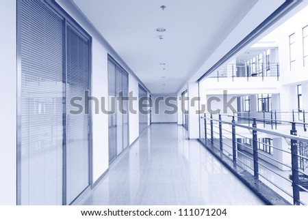 Office area clean walkways