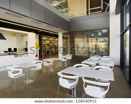 Office building cafe