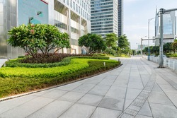 Office building green environment in China