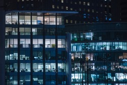 Office building - skyscraper, working meeting concept - Paris 2018