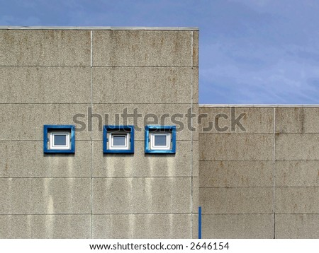 office building - windows