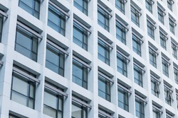 Office building windows background