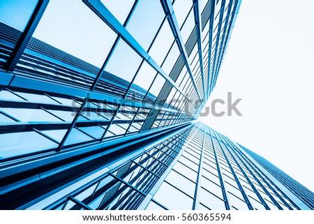 office buildings.  Skyscraper #560365594