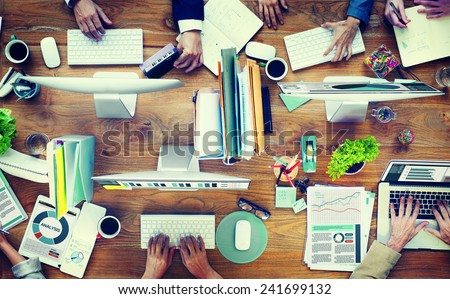 Shutterstock Office Business Adminstratation Start Up Conference Meeting Concept
