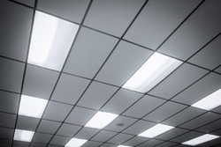 Office Ceiling and lighting