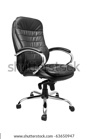 office chair isolated on a white background #63650947