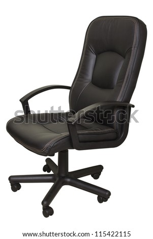 Office chair isolated on white #115422115