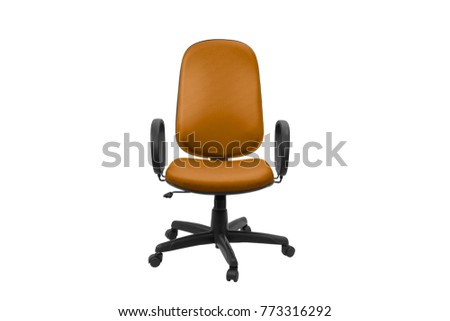 Office chair. Object isolated of white background