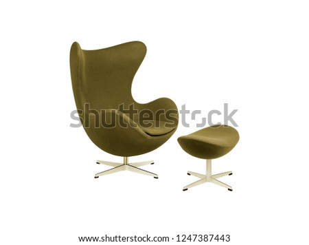 office chair with foot rest  #1247387443