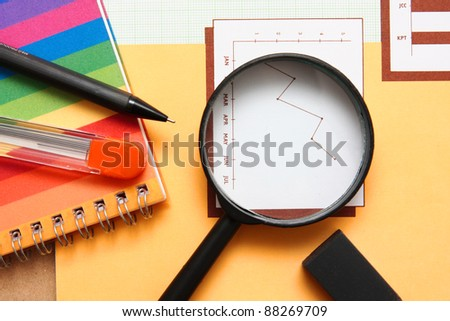 Office equipment,magnifying