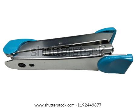 office equipment stapler white background