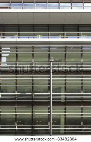 Office Facade, Manchester - stock photo