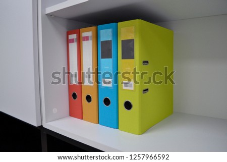 Office folders for documents