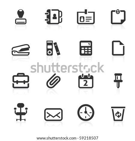 Office  icons - minimo series
