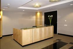 Office interior - reception desk