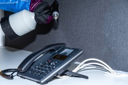 office nebulization - office disinfection