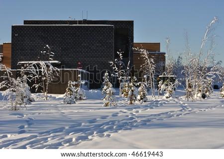 Office Park in  Winter
