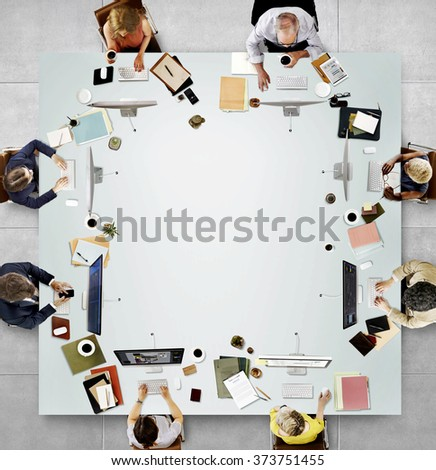 Office Professional Occupation Business Corporate Concept #373751455