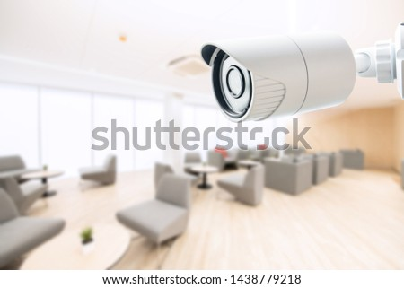 Office security camera CCTV Monitoring Monitor system safety and protect