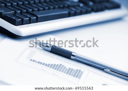 Photo of Office still-life