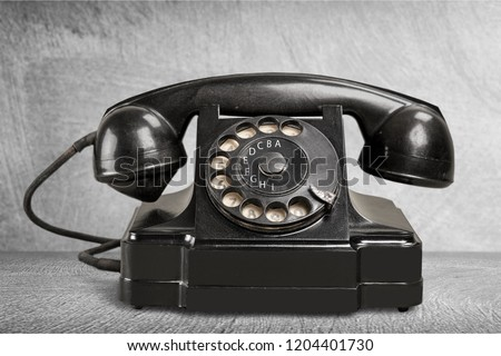 Office: Telephone Black #1204401730