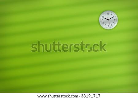 Office Wall Clock - stock photo