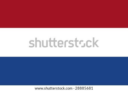 official flag of holland / netherlands