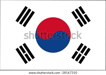 official flag of south korea