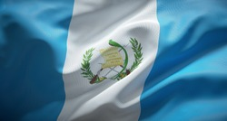 Official flag of the Republic of Guatemala.