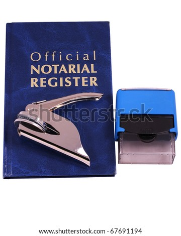 Official Notarial Register