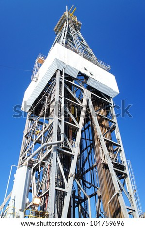 Offshore Jack Up Drilling Oil Rig