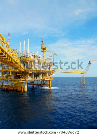 Offshore Oil & Gas central process platform, Offshore natural