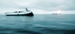 Offshore Operations, Platform together with Seismic Survey Vessels and Offshore Supply ships